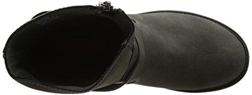 Damen Charcoal Combat Tour Dog Rocket Grau Boots 1xYqwU5p
