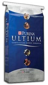 (Dogswell Purina Mills Ultium Competition Horse Form 50 lb Horse Food, 1 Pack, One)