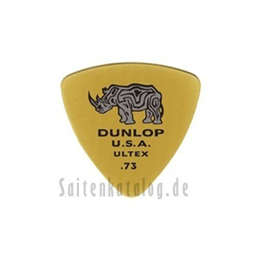 - Dunlop 426P.73 Ultex Triangle, Gold.73mm, 6/Player's Pack