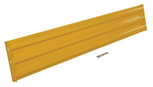 (Vestil YGR-B-8 Structural Guard Rail, Yellow, 90