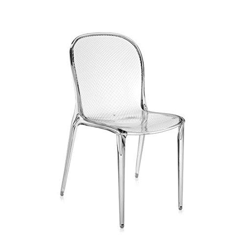 Kartell Set 2 Thalya - transparent crystal chair