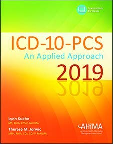 Download ICD-10-PCS: An Applied Approach 2019 1584266899
