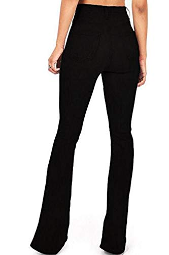 Boot Fit Vita Slim Alte Cut Black Donne Jean Pantaloni Jeans Skinny Le T71qF