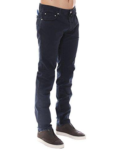 Jacob Cohen Homme PW688604866 Bleu Coton Jeans