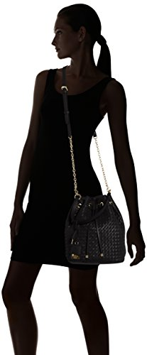 Guess zoie Drawstring Compartiment wg642330 Sac 29 x 28 x 14 cm, Black