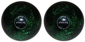 EPCO-Duckpin-Bowling-Ball-Starline-Kelly-Green-Pearl-2-Balls