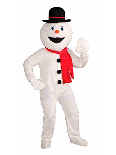Forum Novelties Men's Deluxe Snowman Mascot Costume, Multi, One Size by Forum Novelties