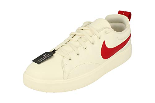 Nike Course Classic Mens Golf Shoes 905232 Sneakers Trainers (UK 9 US 10 EU 44, sail Gym red 101)