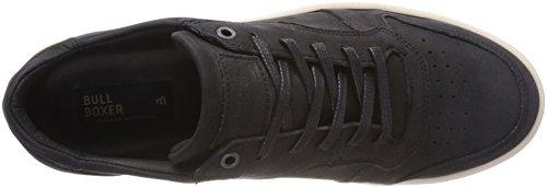 BULLBOXER Herren 6456a Sneaker Schwarz (Black)