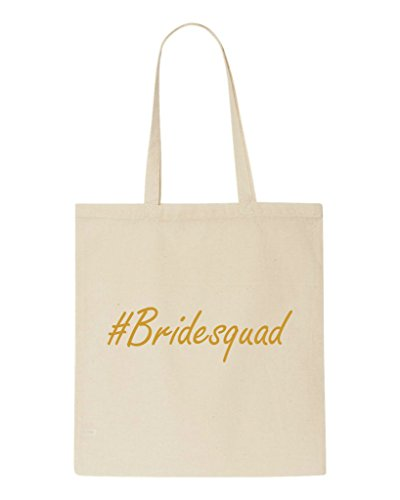 Shopper Hashtag Tote Gift Wedding Bridesquad Bride Beige Party Engagement Bag wWqSfR8w
