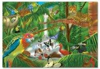 Melissa & Doug Rainforest Jigsaw Puzzle, 200-Piece