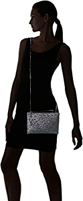 GUESS Ever After Metal Crossbody Clutch