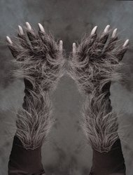 Zagone Studios Men's Killer Wolf Gloves (Grey)