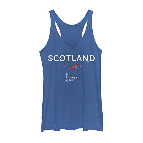 (Fifth Sun Officially Licensed FIFA Scotland Junior's Racerback Tank, Royal Heather, Small )