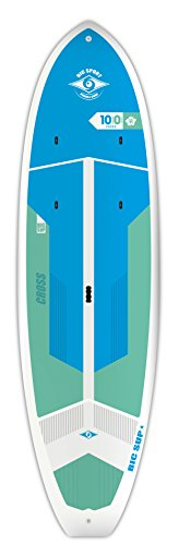 """BIC Sport ACE-TEC Cross Sup Stand Up Paddleboard, Fit Gloss White/Blue/Aqua, 10'0"""""""