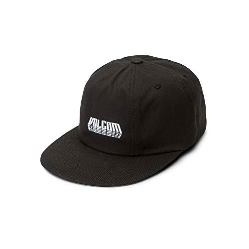 Volcom Men's Shift Stone Adjustable Hat, Black, One Size Fits All