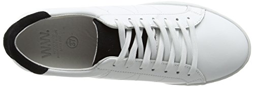 Shoes Shoe white Basses Mixte White Sneakers Bo Adulte Wood Ww PqwgSEdxP