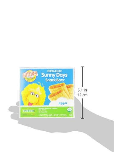 Earth's Best Organic Sunny Day Toddler Snack Bars with Cereal Crust, Made With Real Apples - 8 Count (Pack of 6) by Earth's Best (Image #8)