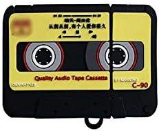 3Dレトロオーディオテープヘッドフォン保護アクセサリーケースfor Apple for Airpods 1/2シリコン保護イヤホンカバー-tape-
