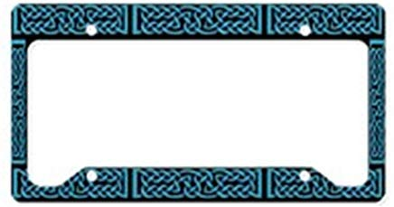 license plate frame celtic knot - 5
