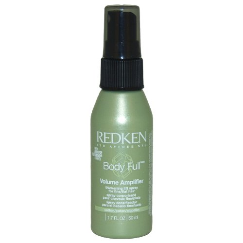 - Redken Body Full Volume Amplifier Thickening Lift Spray Hair Spray for Unisex, 1.7 Ounce