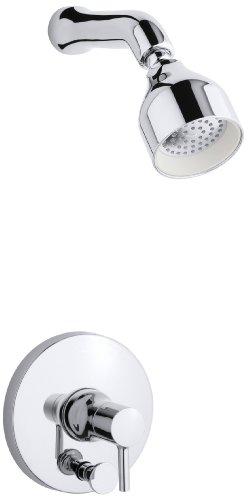 KOHLER K-T8977-4-CP Toobi Shower Trim with Diverter, Valve Not Included, Polished Chrome