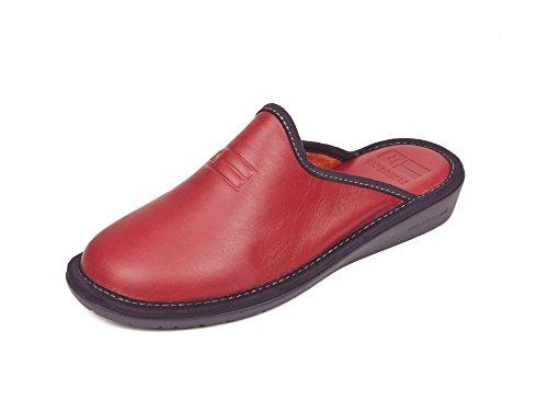 Pantofole Rosso 36 Donna Pelle Nordika HnwTq6YP0H