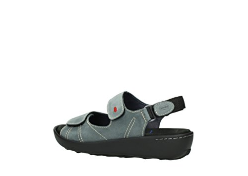 Wolky Comfort Sandals Lin 10201 Grey Nubuck VQETc8v