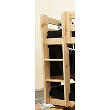 Scala in legno naturale per letto a castello: Amazon.it: Casa e cucina