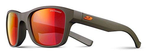 (Julbo Reach Kids Sunglasses Spectron 3 Color Flash Lens, Army Green )