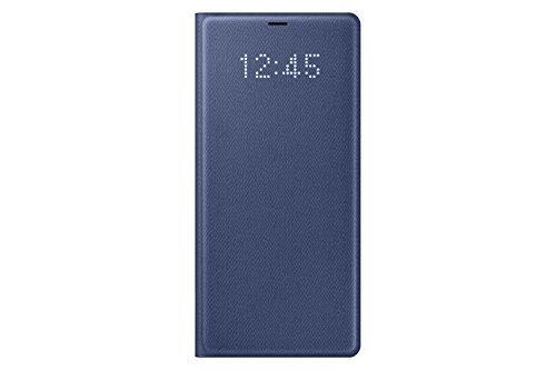 Samsung Galaxy Note8 LED View Wallet Case, Blue ()