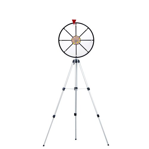 16 Inch White Dry Erase Prize Wheel with Stand by Midway Monsters