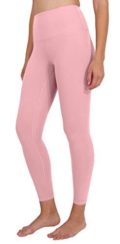 - Yogalicious High Waist Ultra Soft Lightweight Leggings - High Rise Yoga Pants - Sweet Bonbon Ankle Length - XS