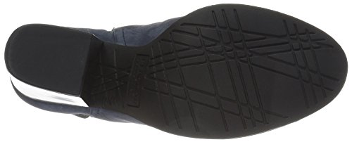 Kenneth Cole Reaction Womens Might Make It Leather Round Toe Ankle Fashion BO. Navy EHooGWizEO