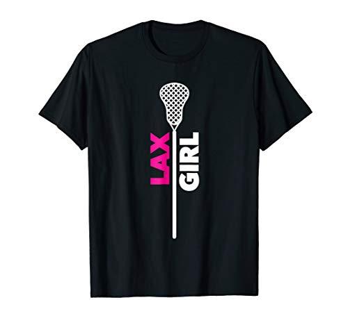 - Lacrosse Girl Ladies Women's LAX T-Shirt
