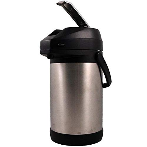 (Commercial Stainless Steel Lined Airpot Coffee Server Dispenser 2.0-3.8 Liters)