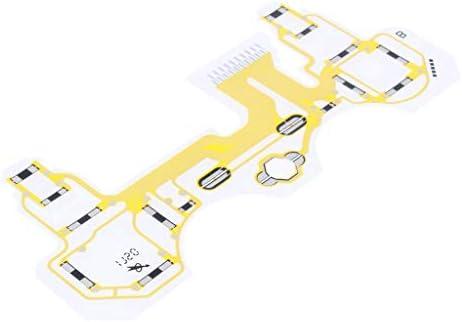 gazechimp ソニーPS3 N15-160PIA用 キーパッド サーキットボード 伝導性 フィルム 屈曲ケーブル 修理部品
