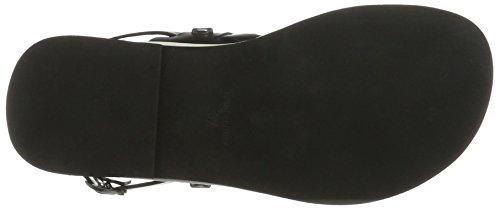 Donna black Gabriele Nero 990 Strehle Sandali Mara qBBn4gt