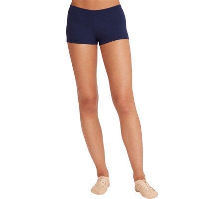 Capezio Dance Girls Boy Cut Lowrise Short,Navy,US I