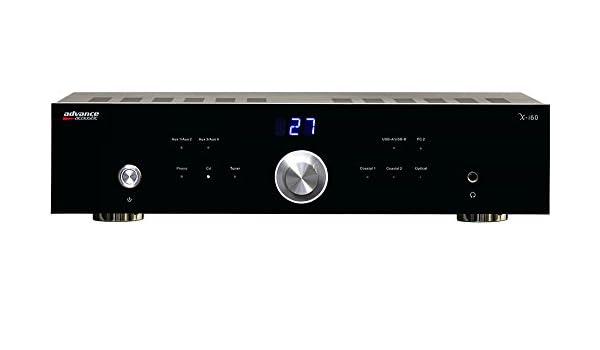 Advance Acoustic XI60 - Amplificador estéreo de 60 W, DAC: Amazon.es: Electrónica