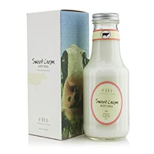 FarmHouse Fresh Sweet Cream Body Milk (Twist Top), 10 Ounce