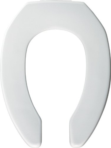 Bemis 3L2155CT DuraGuard Elongated Toilet Seat with 3 Inch Risers, White