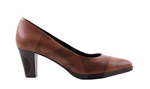 Desireé- 1296DE - Zapato Señora Piel Taupe