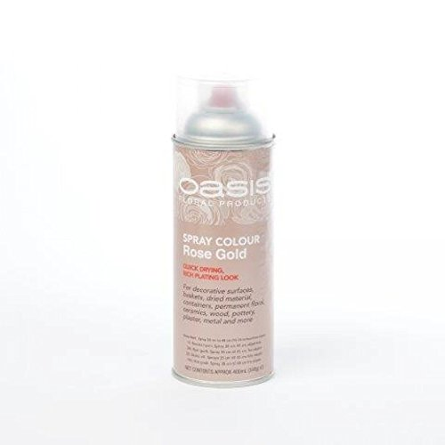400ml Oasis Rose Gold Spray Paint Amazon Co Uk Kitchen Home