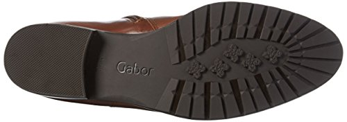 Gabor Shoes Fashion, Botas de Montar para Mujer Marrón (sattel 32)
