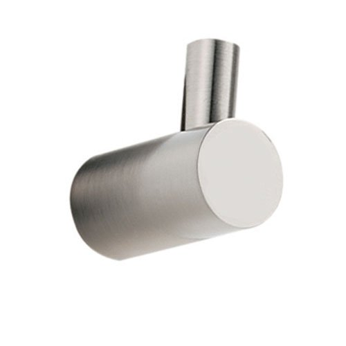 Alno A7080-SN Spa 1 Modern Robe Hooks, Satin Nickel by Alno
