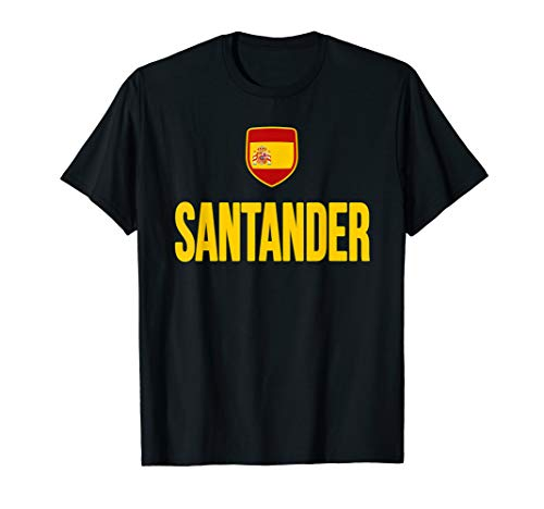 Santander Spain T-shirt Spanish Flag Espana Tourist Souvenir (The Personal Bank Account 7 Habits Summary)
