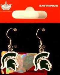 Michigan State Spartans Earrings - NCAA Michigan State Spartans