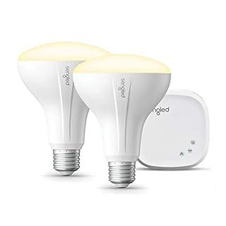 Sengled Smart light Bulb Starter Kit, Smart Bulbs that Work with Alexa & Google Home, Smart Bulb BR30 Alexa Light Bulbs, Smart LED Soft White Light, 9W (65W Equivalent), 2 Smart Bulbs & 1 Smart Hub