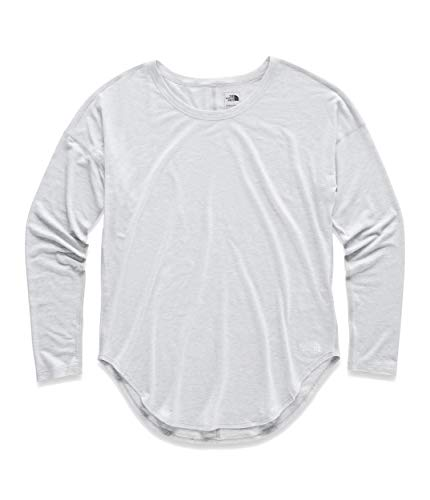 The North Face Women's Workout L/S, TNF Light Grey Heather, Size L